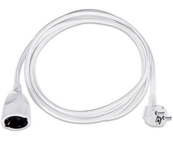 Andersson Extension cord textile white 3m