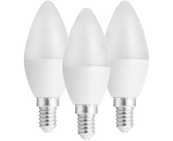 Andersson LED bulb E14 C37 3W 2700K 250LM 3-pack