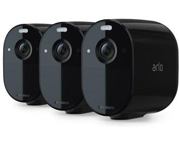 Arlo Essential 3-Pack Black