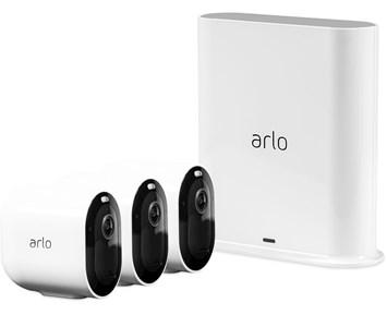 Arlo Pro 3 Vit - 3 kameror