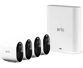 Arlo Pro 3 Vit - 4 kameror