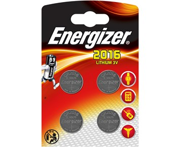 Energizer CR2016 4-pack