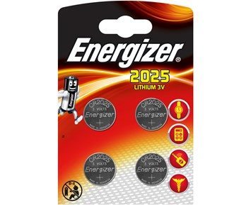 Energizer CR2025 4-pack