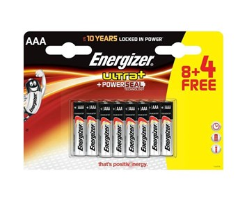 Energizer Lr3/Aaa/12Pack/Max