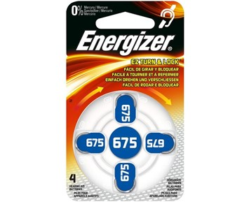 Energizer Zincair675 Dp-4