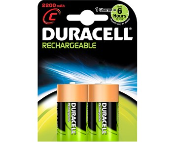 Duracell C Rechargeable