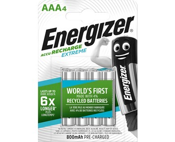 Energizer Extreme AAA/NH12 800 4-pack