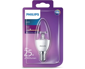 Philips Led (4W) 25W E27 candle