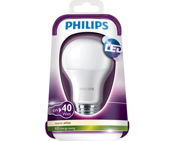 Philips Led 40W E27 frost warm