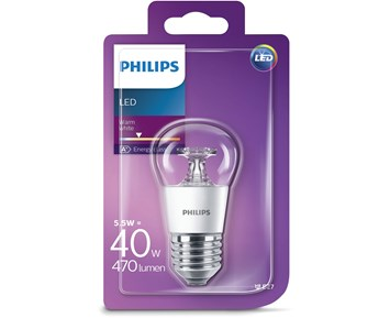 Philips Led klot (5.5W) 40W E27