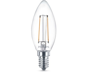 Philips Led filament 25W B93 E14 kron