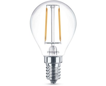 Philips Led filament 25W P45 E14 klot