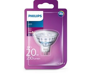 Philips Led spotlight 35W GU5.3 warm