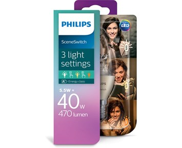 Philips Led SS 40W B38 E14