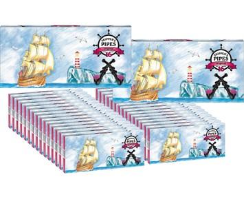Malaco Skippers Pipe16-p hel låda