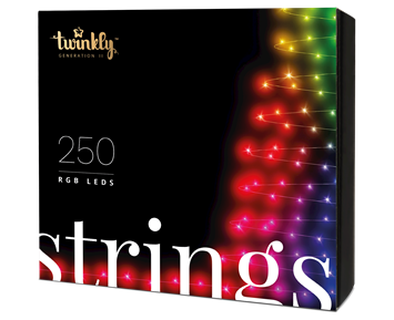 Twinkly Strings 250 Multicolor RGB LED Gen 2