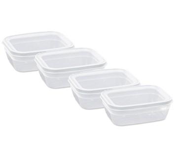 Nordiska Plast Lunchlåda Vit 12 L x 4st