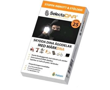 SelectaDNA Stöldskyddsmärkning för minst 25 föremål