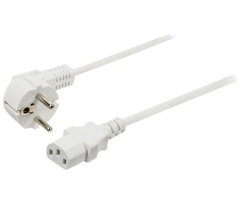 Valueline Powercable 5m – White