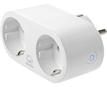 Deltaco 2 way outlet smart plug energy monitor