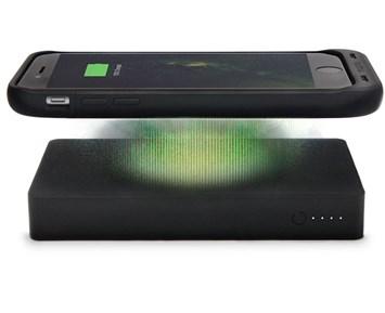 10000mAh Qi Trådlös laddare Dubbel USB Power Bank för iPhone 8 X för Samsung S8 bärbart externt batteri Powerbank laddning