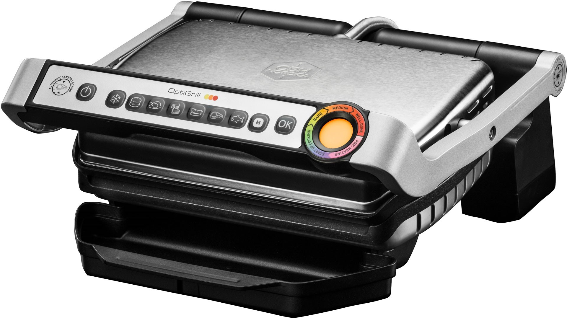 OBH Nordica Optigrill - Smart kontaktgrill med automatiska program