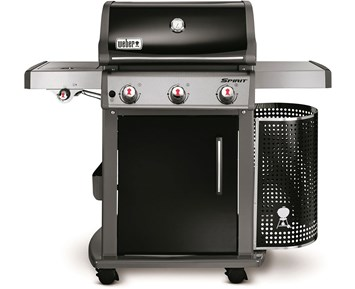 weber spirit e 320 premium gasolgrill med tre rostfria br nnare. Black Bedroom Furniture Sets. Home Design Ideas