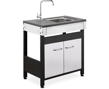 AABQ Side Table with sink and water tap