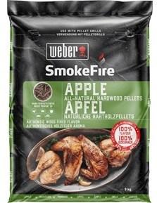 Weber Apple Hardwood Pellets 9 kg
