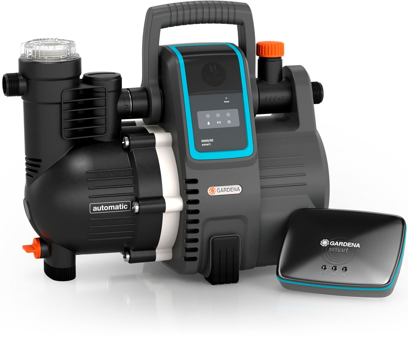 gardena smart pump inkl gateway elektrisk tryckpump och. Black Bedroom Furniture Sets. Home Design Ideas