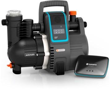 gardena smart tryckpump 5000 5e elektrisk tryckpump som sparar pengar och milj. Black Bedroom Furniture Sets. Home Design Ideas