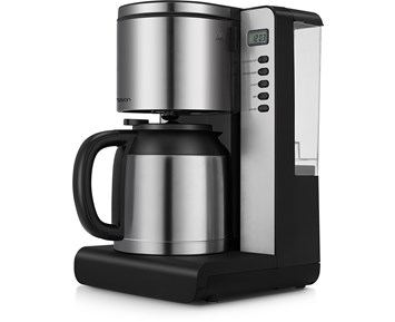 kaffebryggare med kvarn och termoskanna