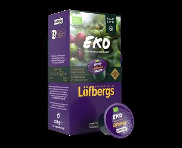 Löfbergs Lila Eko Mörkrost Kaffekapslar