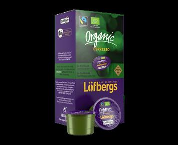 Löfbergs Lila Organic Espressokapslar
