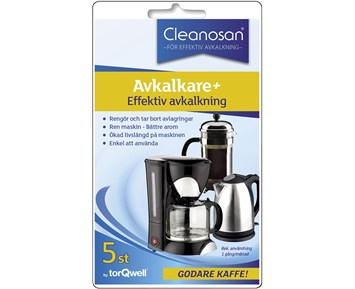 Cleanosan Decalcification for coffee makers 5pcs