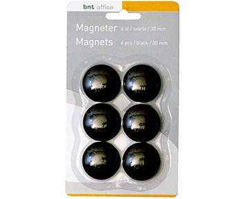 BNT Magneter 30mm 6st Svart