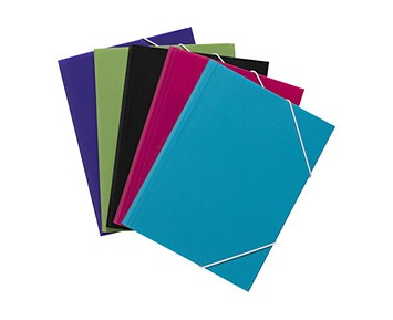 Bright Office String Folder Black
