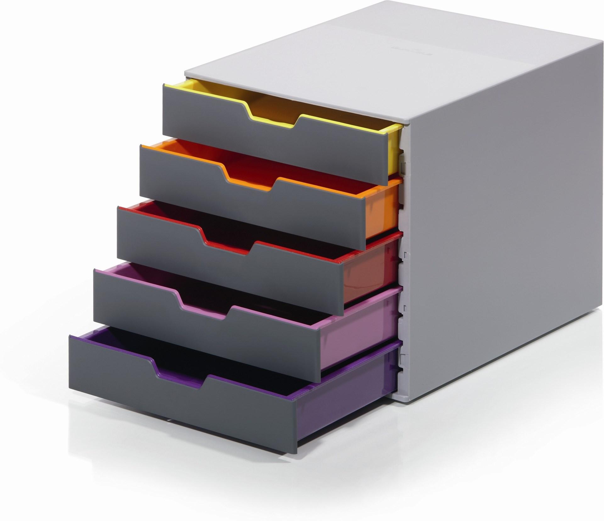 Durable varicolor 5 blankettbox varicolor 5 for Ladenblok durable varicolor