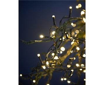 DAY LIGHT CHAIN W/200LED 31V IP44 IN/OUT