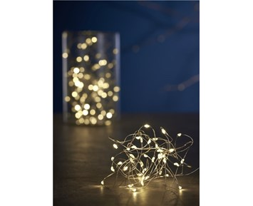 DAY LIGHT CHAIN W/40MINI LED WITH BATTERY BOX