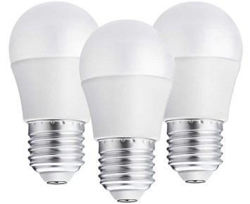 Andersson LED bulb E27 G45 3W 2700K 250LM 3-pack