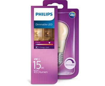 Philips Led Flame 15W P48 E27 klot