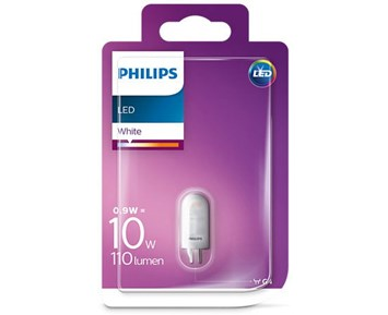 Philips LED kapsel 10W G4 Vit ND RF