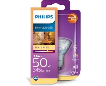 Philips LED spot 3.5W (50W) GU10 dim