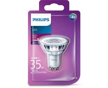Philips LED spotlight 3.5W (35W) GU10