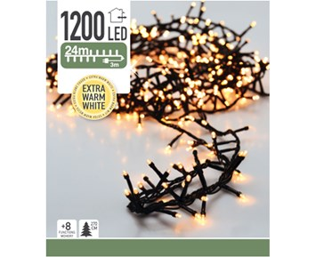 Others Led chain snake 1200 x warm white