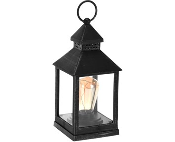Others Lantern with bulb Black