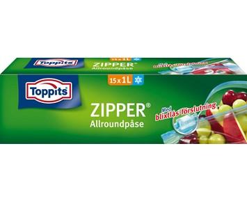 Zip påse 1 liter
