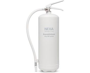 Nexa Brandsläckare vit 6kg