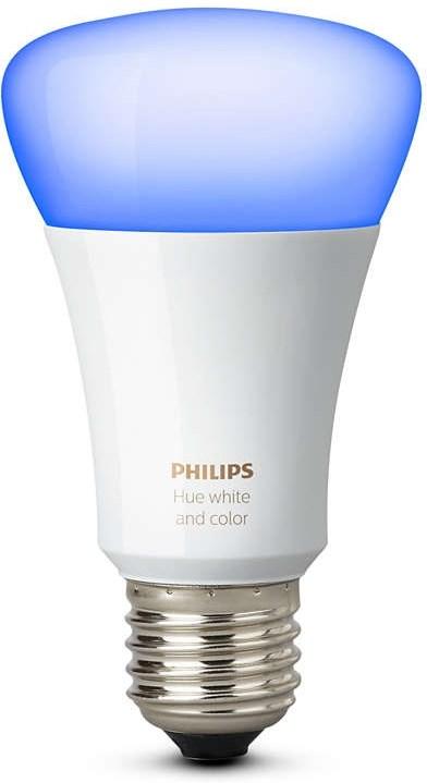 philips hue 10w a60 e27 10 w f rg led lampa f r philips hue system. Black Bedroom Furniture Sets. Home Design Ideas